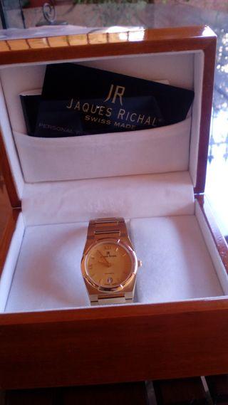 reloj señora bañado oro