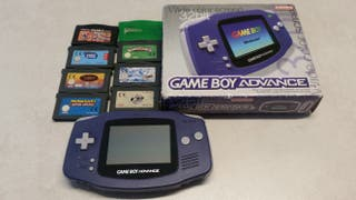 Game boy advance + 8 juegos