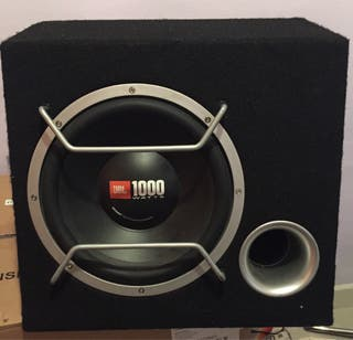 """Subwoofer JBL 10"""" 1000w Impecable-bombo"""