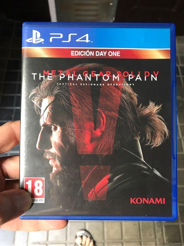 Metal Gear Phantom Pain PS4