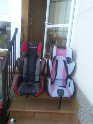 Se venden sillas de coche, hasta grupo 3