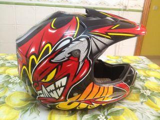 Casco Motocross Shad