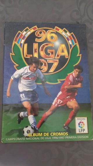 Álbum cromos liga 96/97