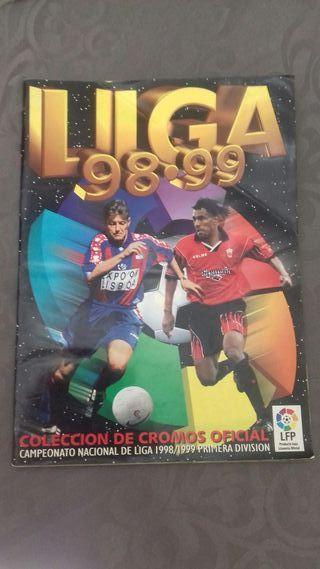 album cromos liga 98/99