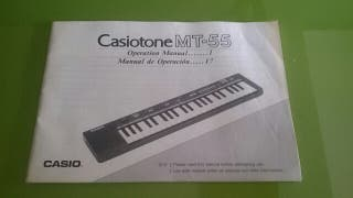 Casiotone MT 55