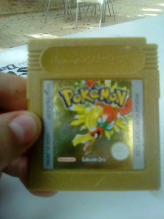 pokemon edicion oro gameboy barata