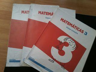 libro matematicas de tercero