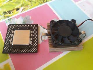 procesador intel pentium mmx + ventilador