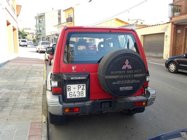 Mitsubishi Montero 1995