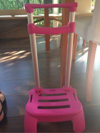 Carro mochila busquets rosa