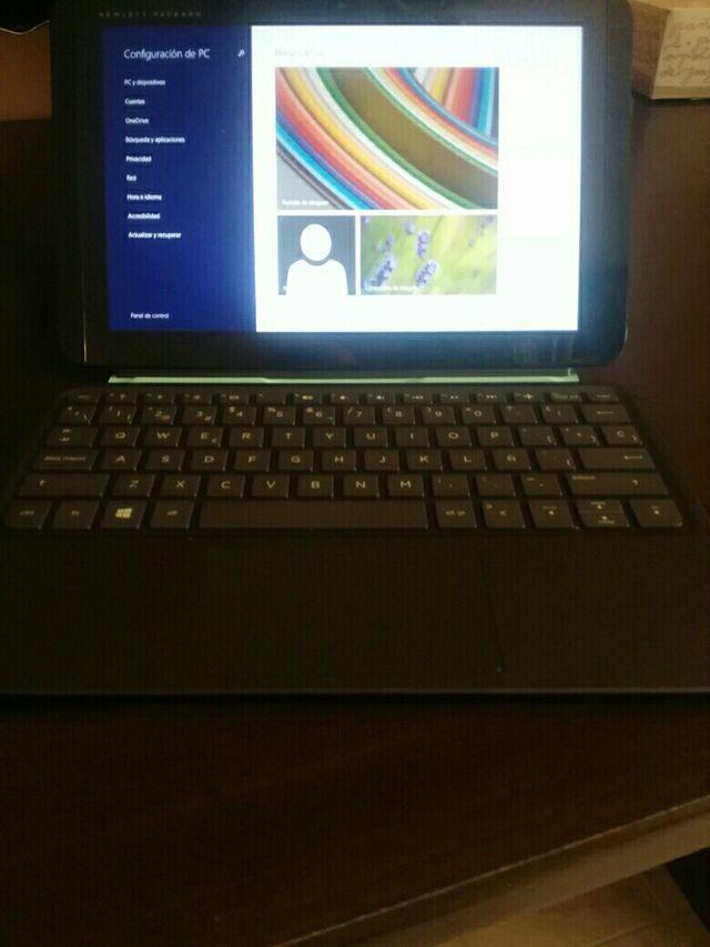 tablet hp 10'' tactil con teclado