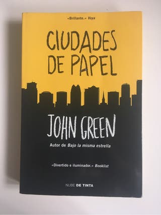 Libro - Ciudades de Papel