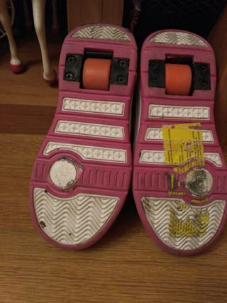 zapatillas ruedas
