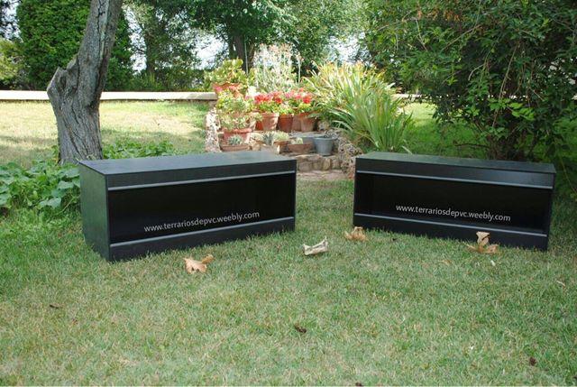 Terrario PVC 100x40x40