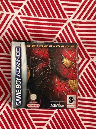 Spiderman 2. gameboy advance