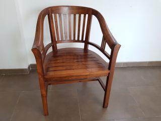 Mesa escritorio madera de Teca