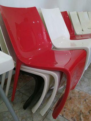 24 sillas para bar o cafetería