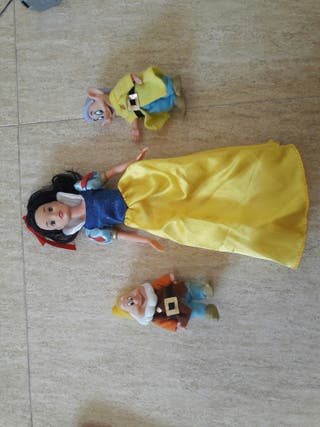 Muñecas Blanca Nieves