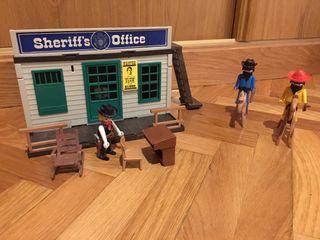 Oficina sheriff playmobil