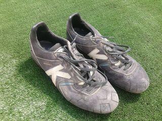 Botas fútbol piel