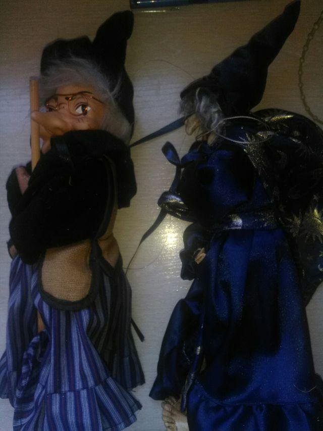 Brujas de adorno