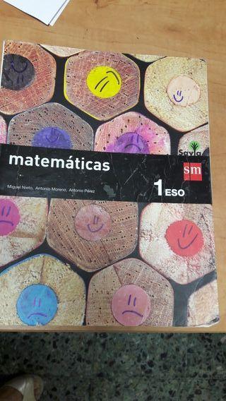 libro matemsticas 1 ESO