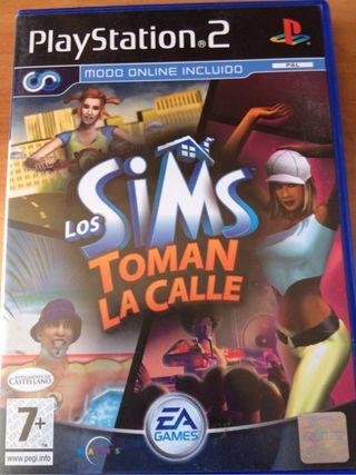 Los Sims Toman la calle PS2