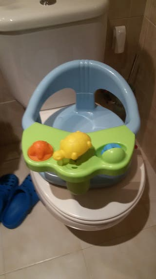 silla baño bebé