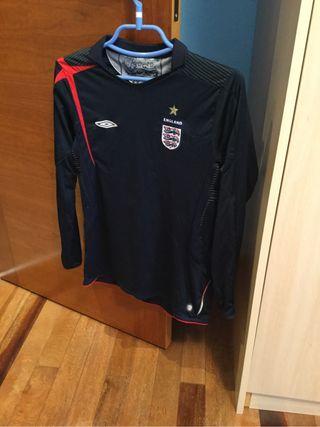 Camiseta Futbol Inglaterra