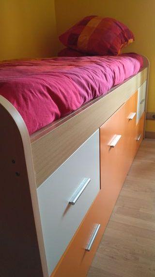 cama doble sumier 90 x 190