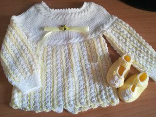 Jersey de bebe hecho a mano