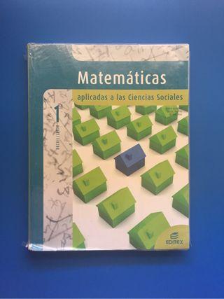 Libro matematicas 1BACH