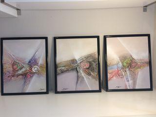 Tres cuadros