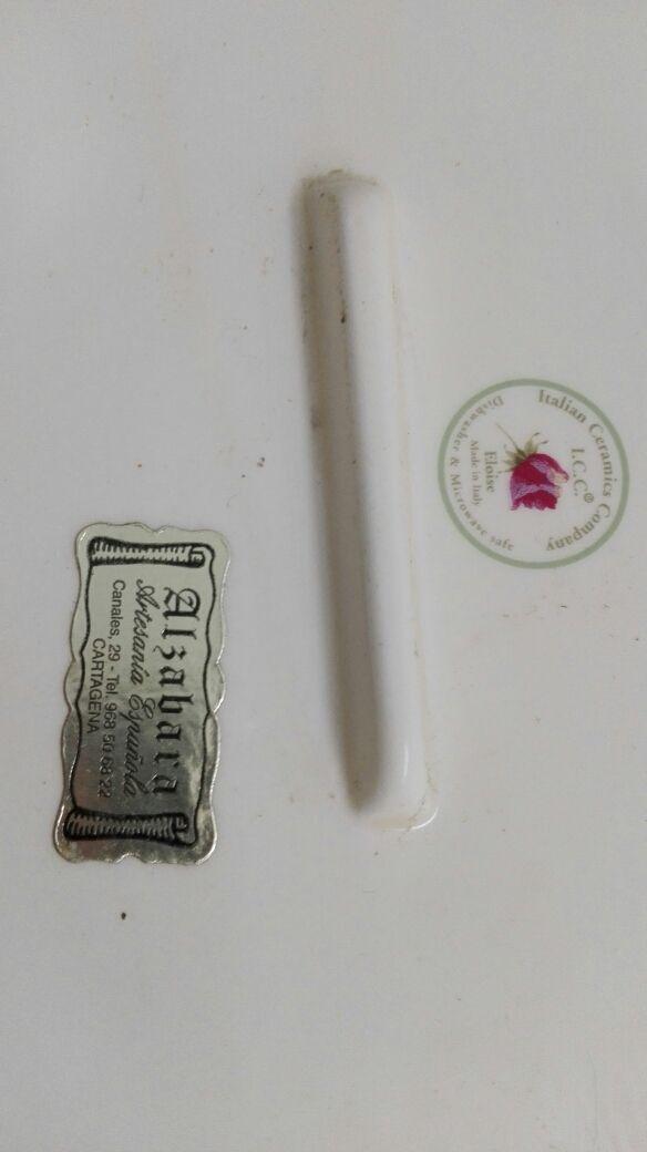 Bandeja ceramica italiana