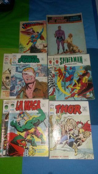 Cómics superhéroes de los 70