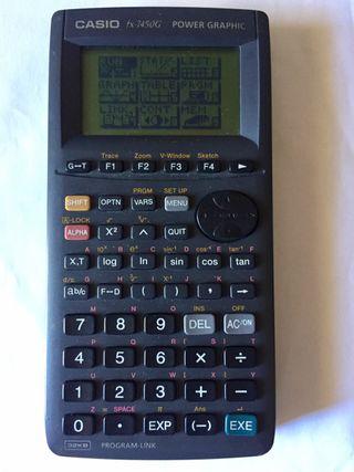 Calculadora gráfica programable Casio