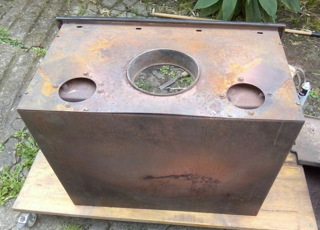 Estufa de leña de hierro fundido JOTUL 25 Classic