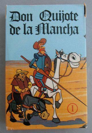 Baraja de cartas Don Quijote, Fournier