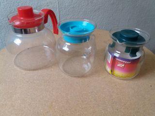 utensilios de cocina de cristal