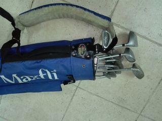 bolsa Golf con todos los Palos.