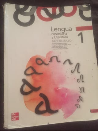 Libro lengua 1º bachiller