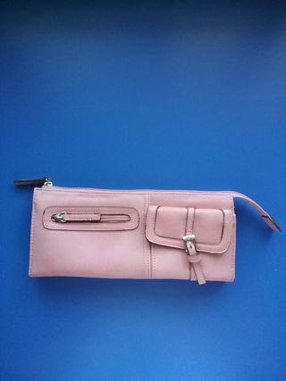 Bolso - cartera Sfera. Color rosa.