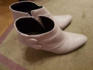 zapatos de blanco 1 puesta