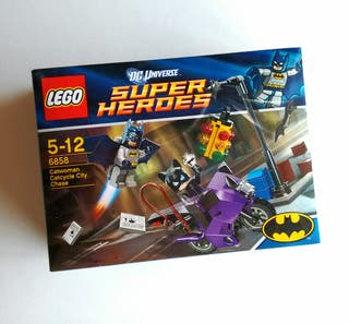 LEGO 6858 Batman DC: Catwoman Catcycle City Chase
