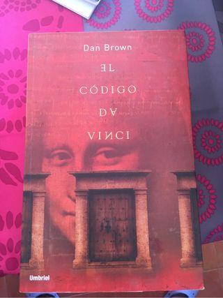 """Libro """"El Código Da Vinci"""""""