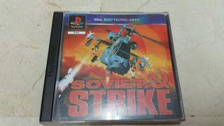 SOVIET STRIKE PS1 PSX SONY