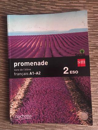 Vendo libro frances 2 eso