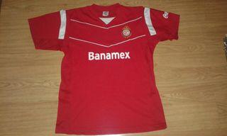 camiseta TOLUCA mexico