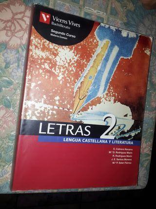 Libro 2° bachillerato castellano y literatura