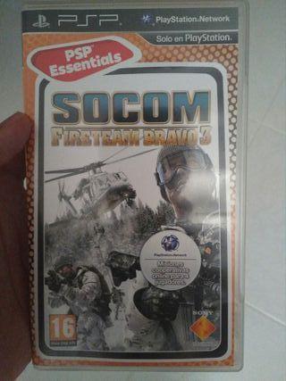 SOCOM: Firestorm Bravo 3 (PSP)